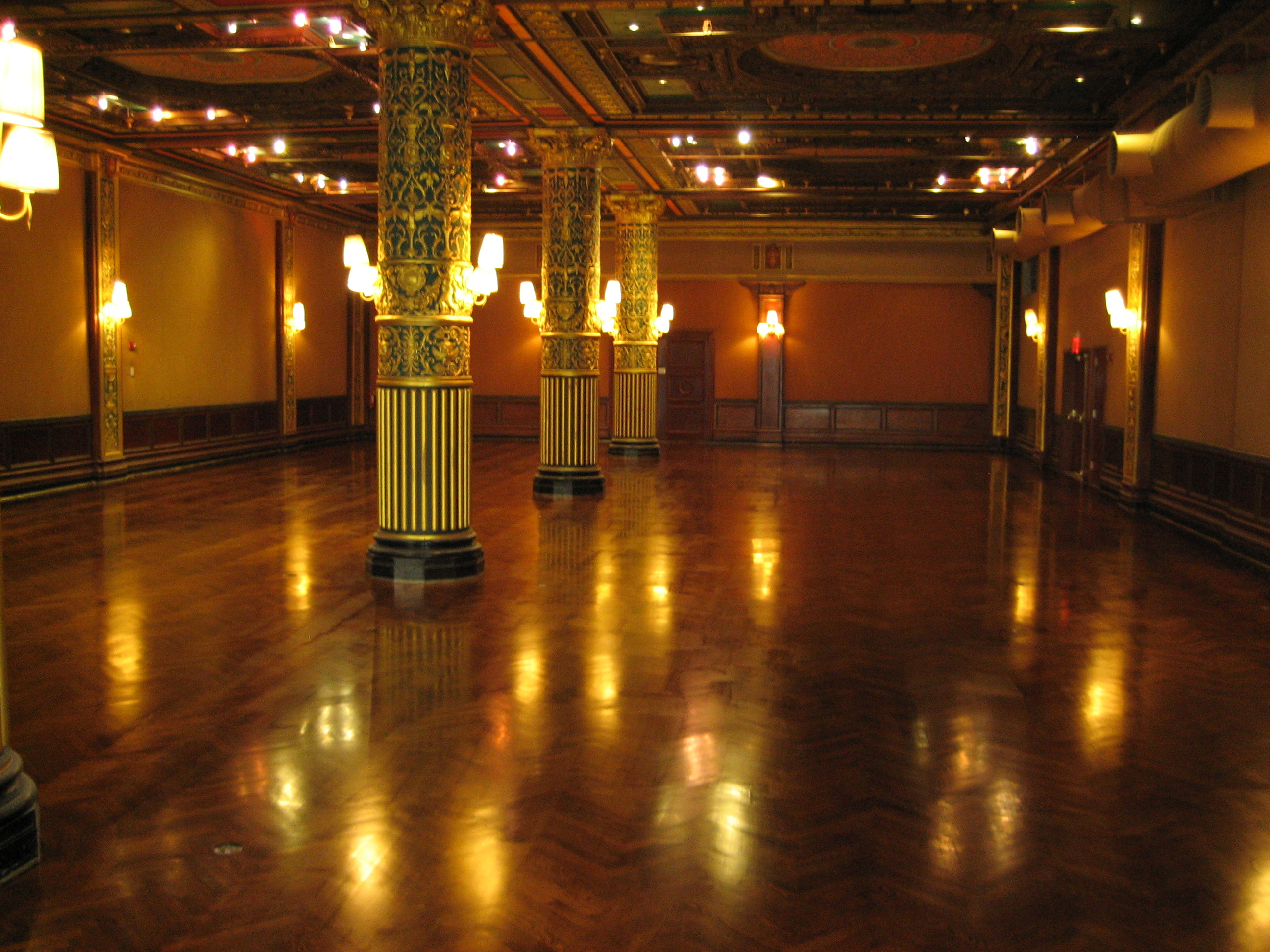 Prince George Hotel- Grand Ballroom after restoration