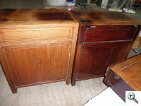 Chinese Rosewood Antique Desk