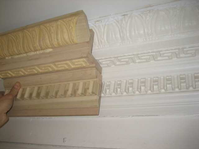 Painted Wood Ceiling