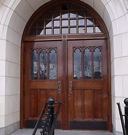 Custom Wood Exterior Doors For Landmarks Fine Homes And Historic Buildings