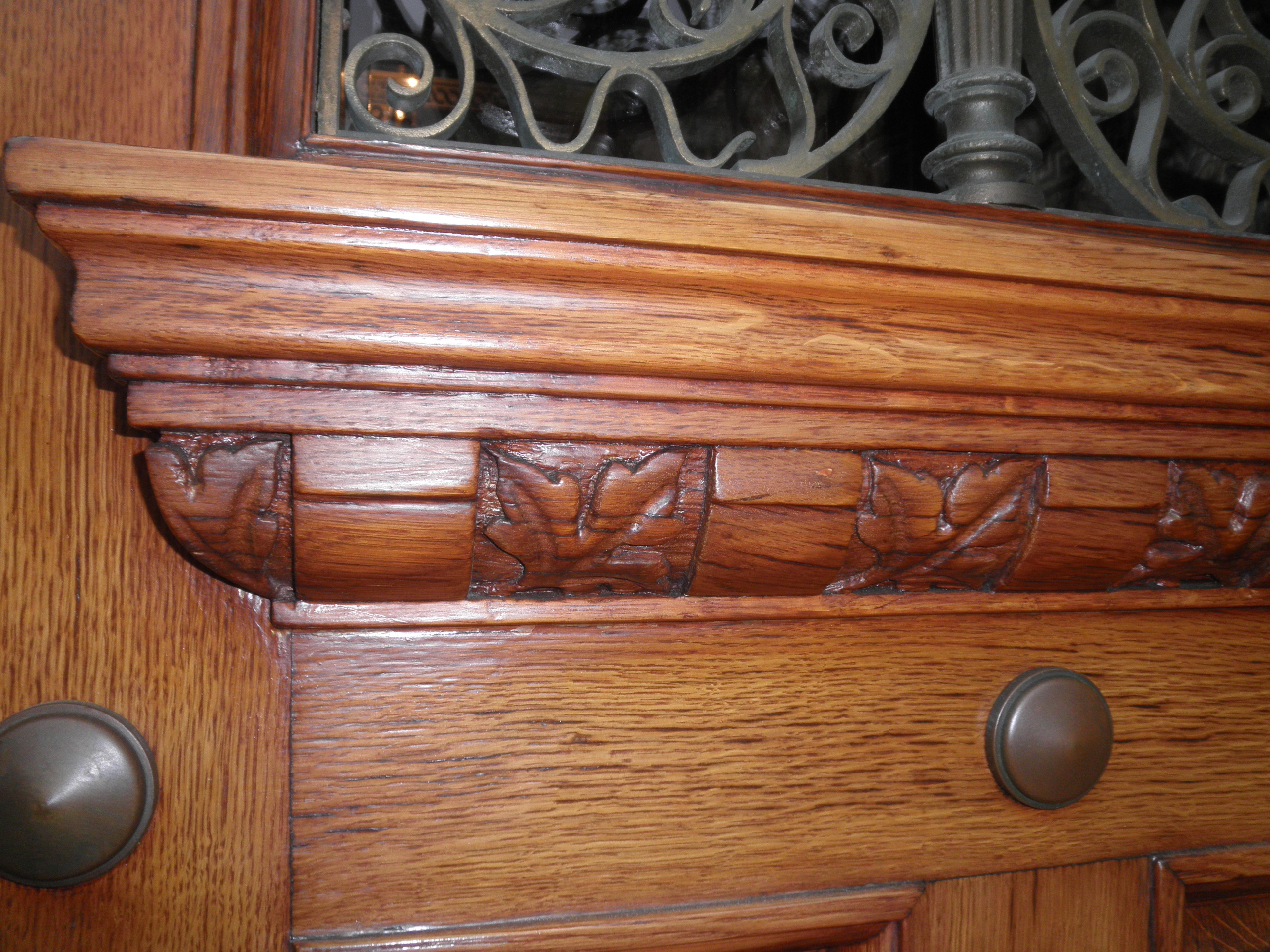matching woodwork
