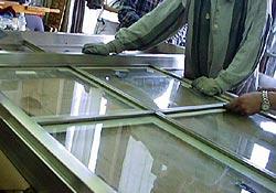 Nickel Silver Windows And Doors Restored For Board Room