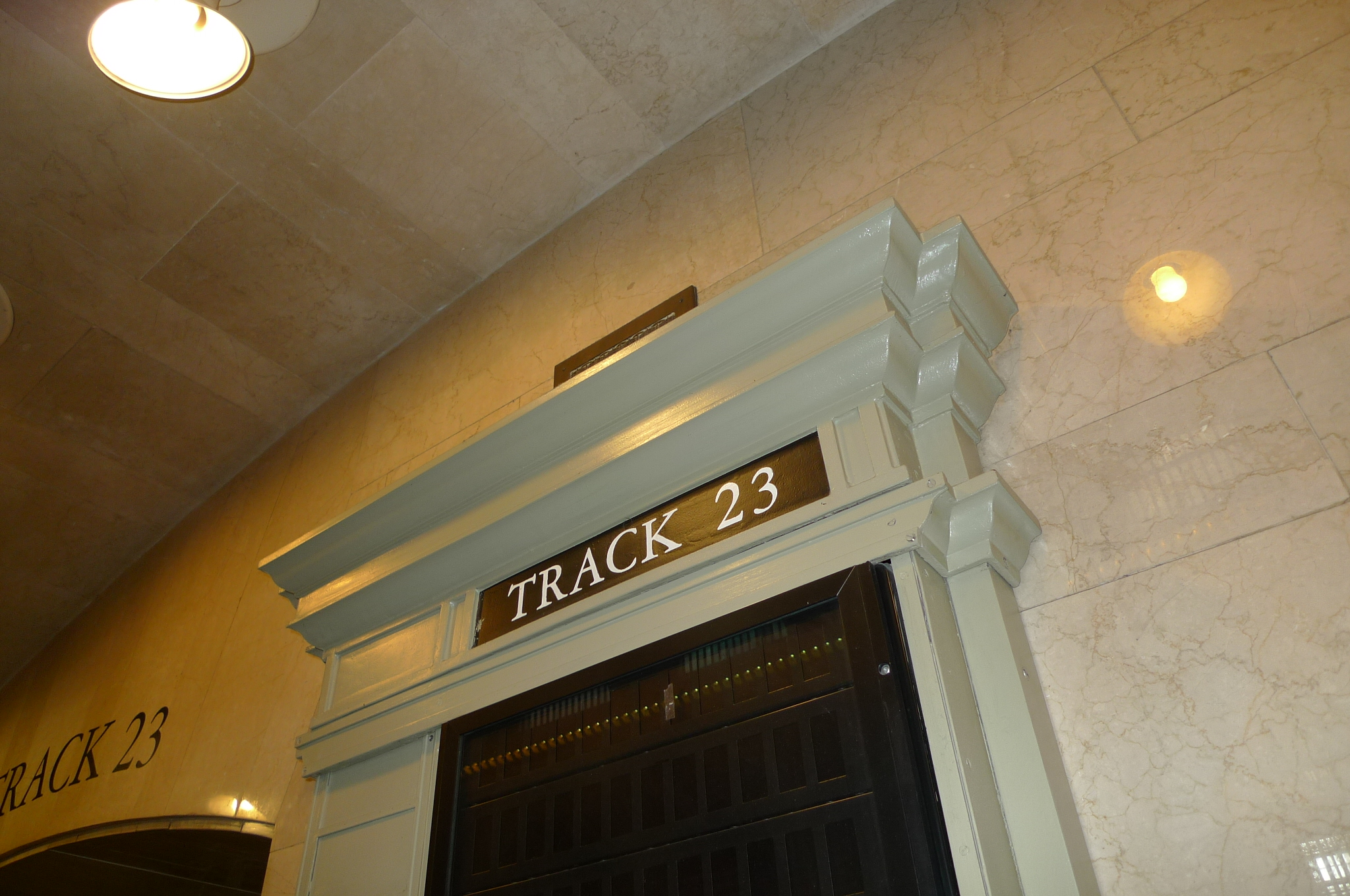 cast iron cornices throughout Grand Central Stations