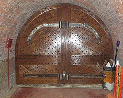 Iron Door Amp Ornamental Metal Hinges And Lockset