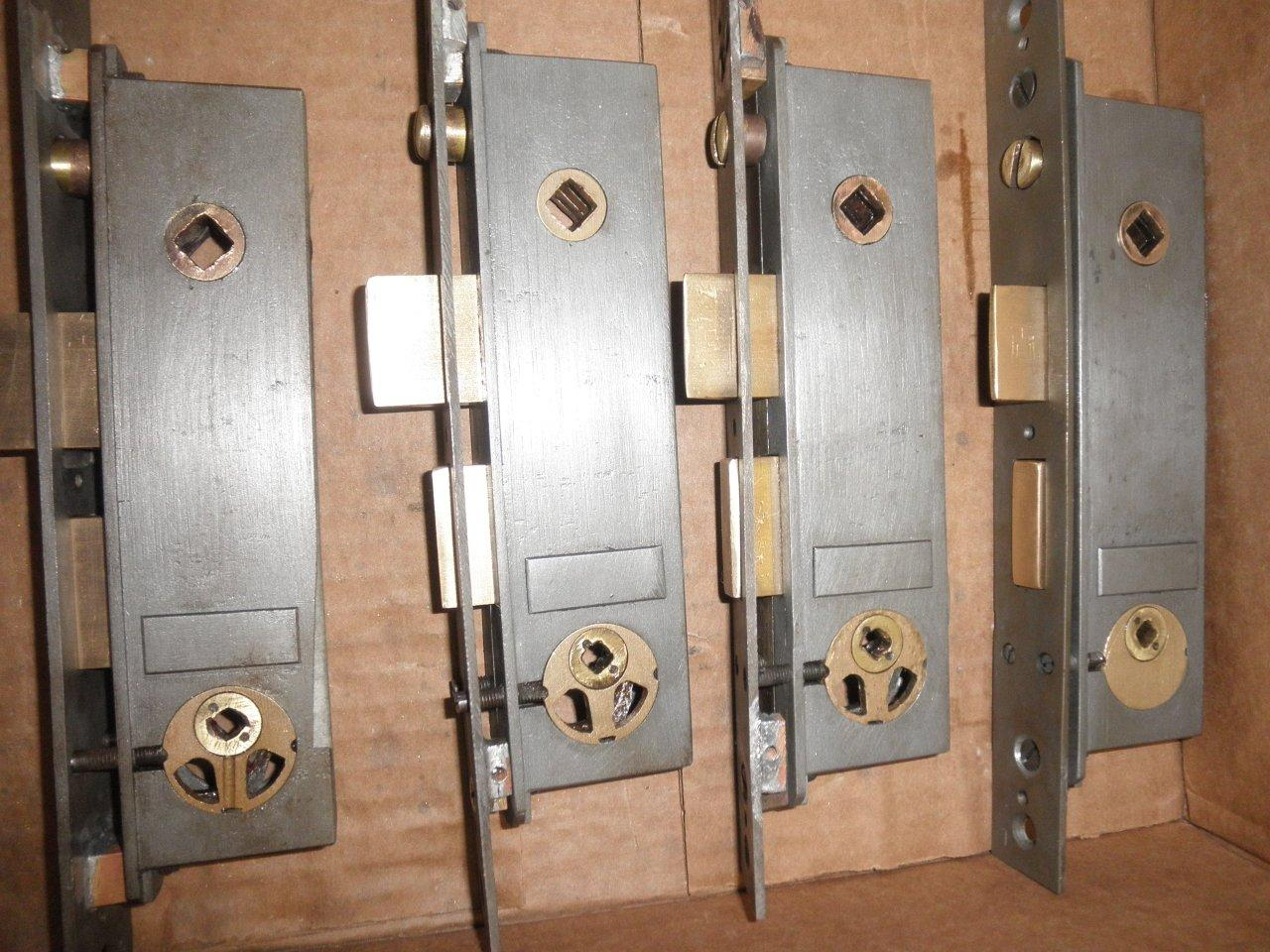 Locksets restored, ca. 1875
