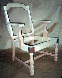 Replicated chair frames, stretchers & turning identical in every detail NYC