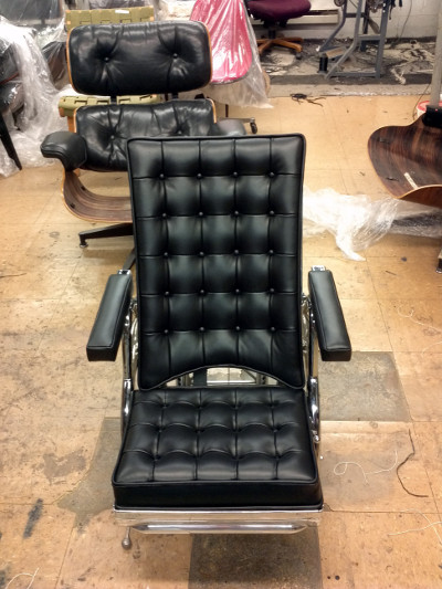 Matthew Day Jackson B-52 Pilots Chair After Repaired
