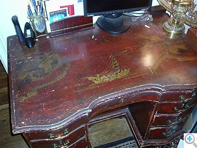 Desk BEFORE restoration