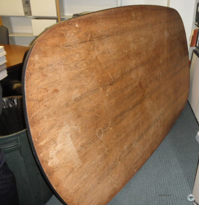 Herman Miller Eames Conference Table needs to be refinished