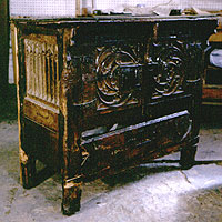 GOTHIC FURNITURE CONSERVATION