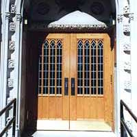 CUSTOM GOTHIC DOORS AFTER