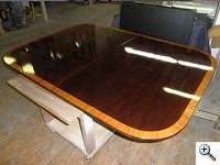 Glossy Closed Pore Dining Table After
