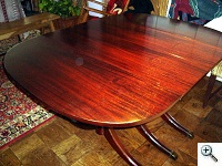 Typical first half 20th Century Dining Table Top after