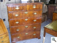 Antique Chest of Drawers with Drawer Runner and Rail repairs