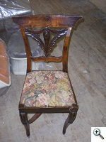 Louis XV period side chair - Furniture Restoration