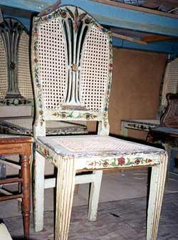 Antique Furniture Conservation Repair Gilding Lacquer