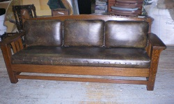 Mission Period English Sofa Recovering