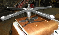 Early Segal Reproduction Chair Base