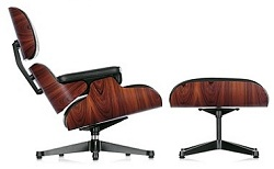 The Plycraft Eames Lounge Chair, From The 1960u0027s. No Shock Mounts, Uses  Bolts Through The Outer Shell, And Straps From The Lower Shell To Both  Sides Of The ...