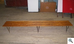 Hugh Acton Bench after