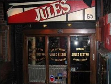 Jule's Bistro, 65 St. Mark's Place, NYC