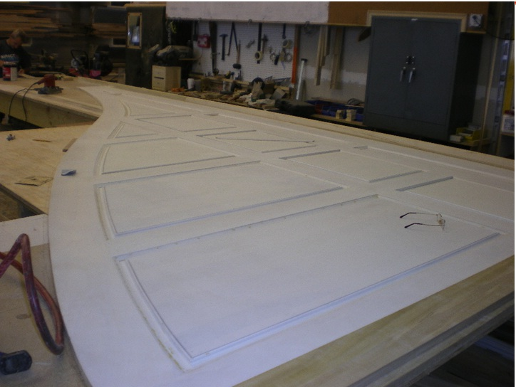 Custom Millwork for the interior restoration