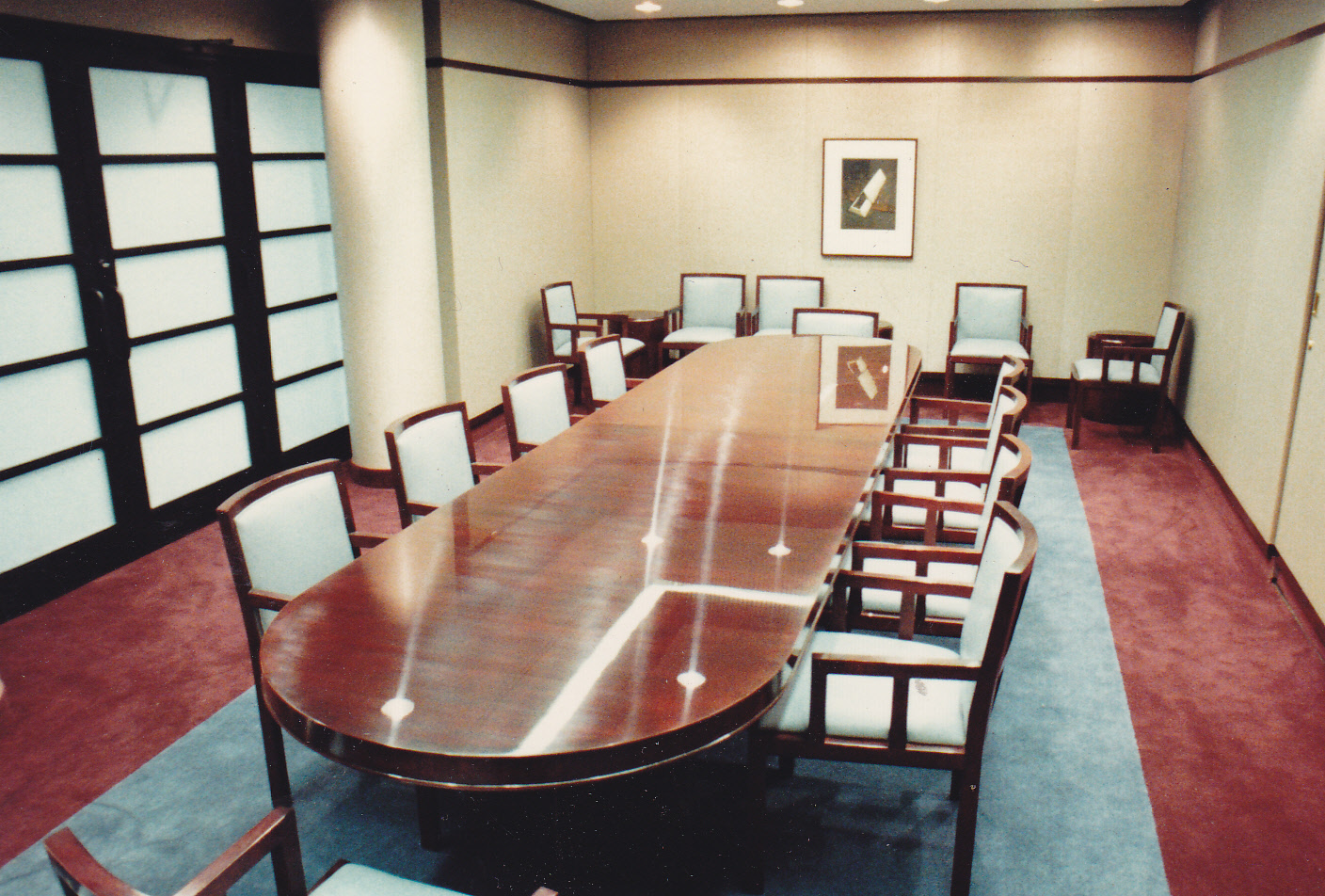 Sony Corporation Conference Table, New Jersey