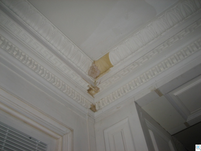 touch up of the cornice composition
