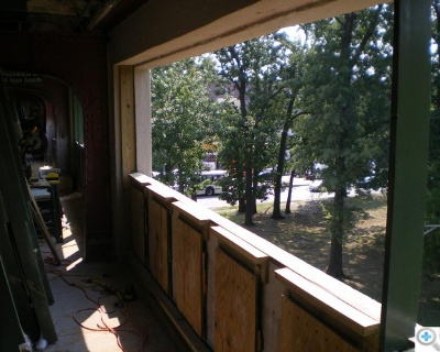 Window and panel blocking during installation