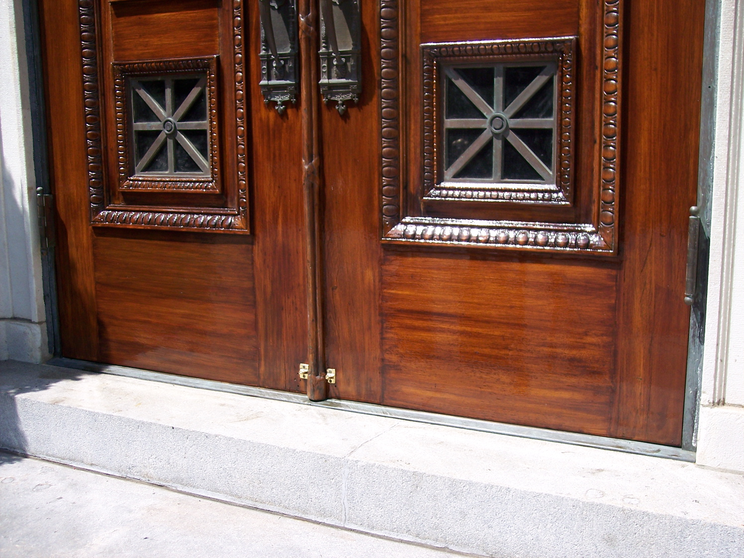 Beau Door Detailed After Restoration, NYC ...