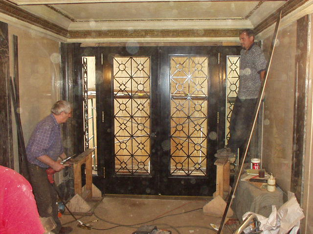1225 Park Ave. Iron Door, interior, during