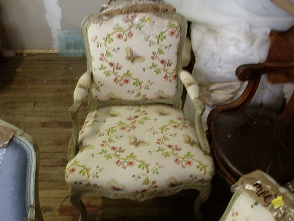 Louis XV Period Fauteuil Armchair AFTER restorationN