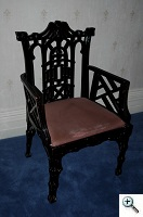 dowelled chair