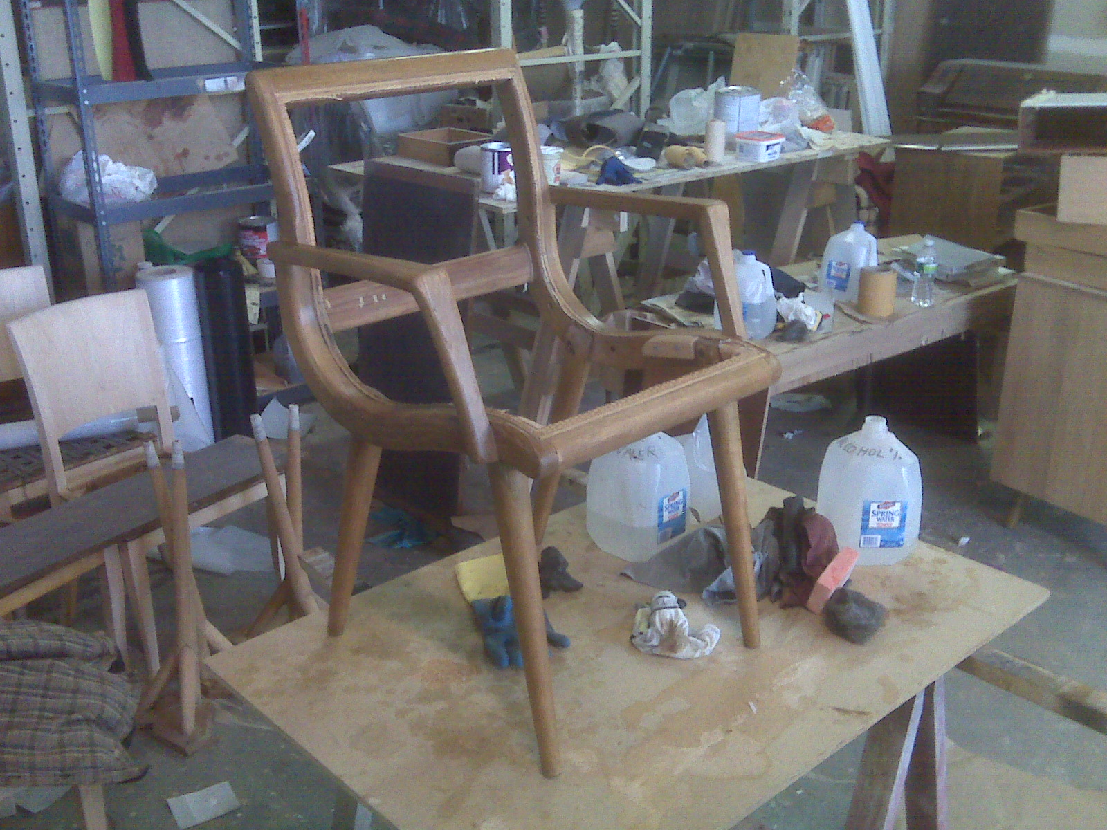 Chair Restoration during