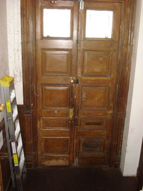 Entry Door Photos - Inside BEFORE