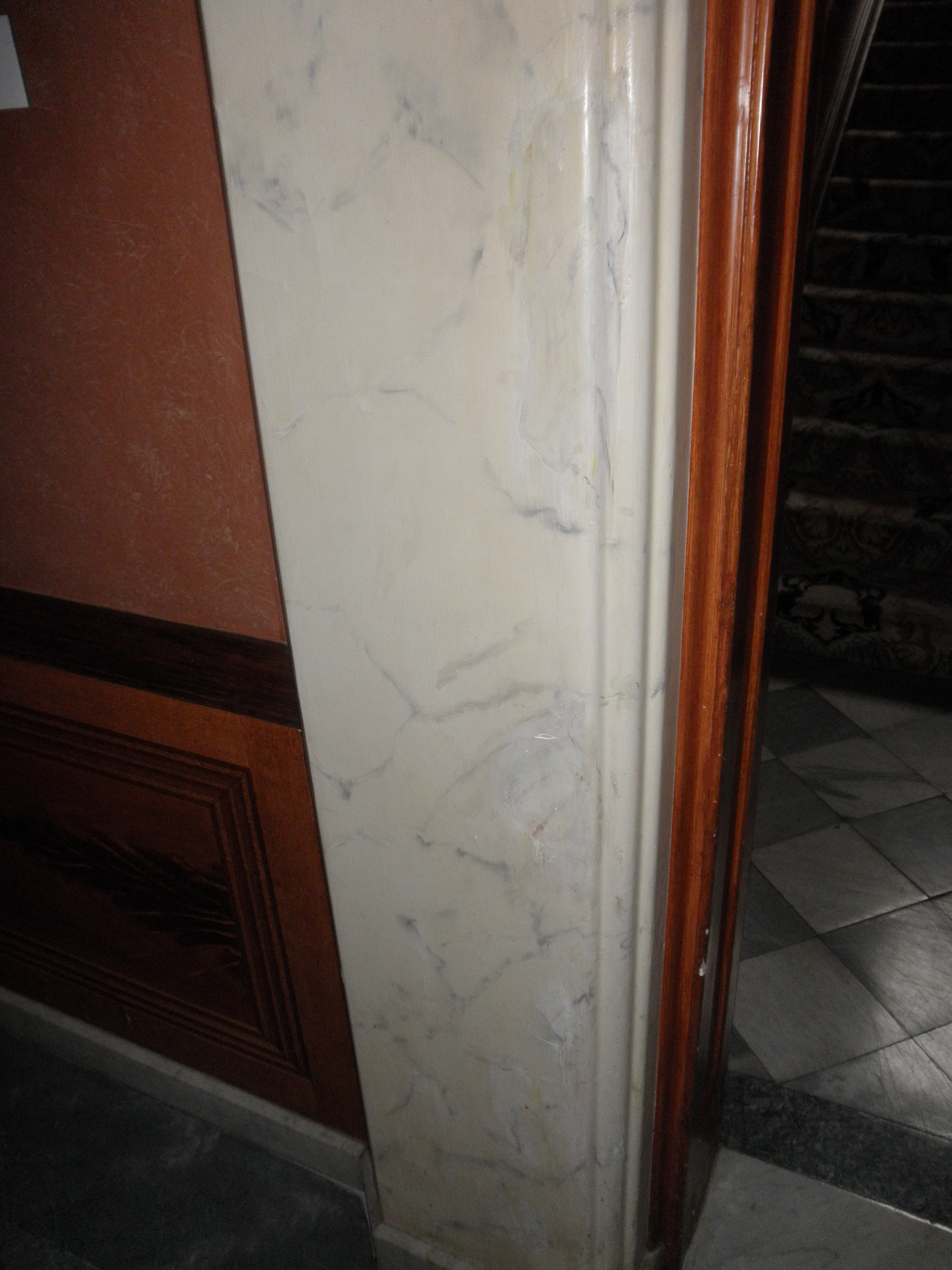 Faux Marble finish