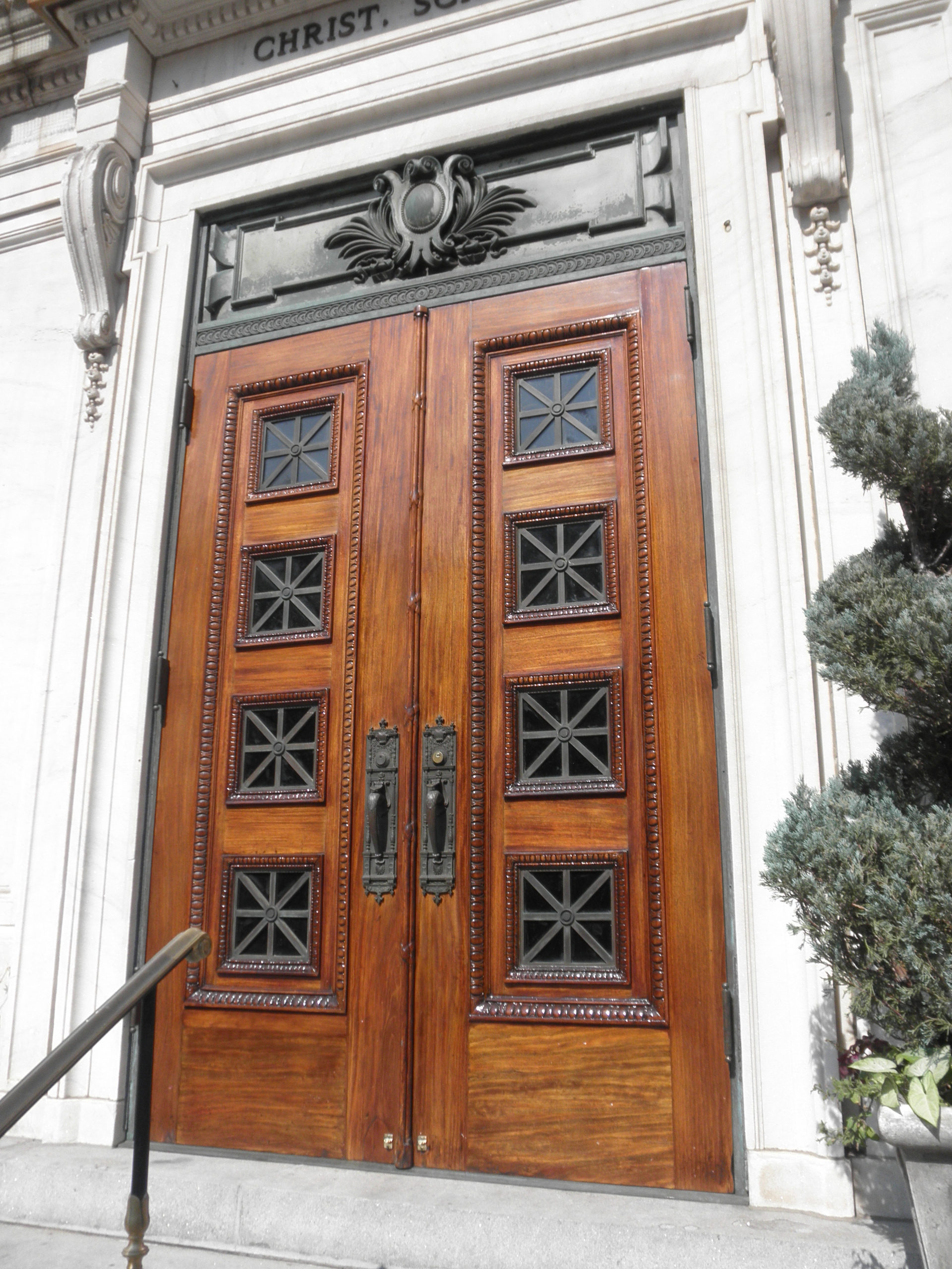 Doors refinishing three years later