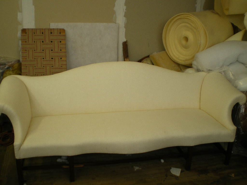 Queen Anne Period Sofa, After