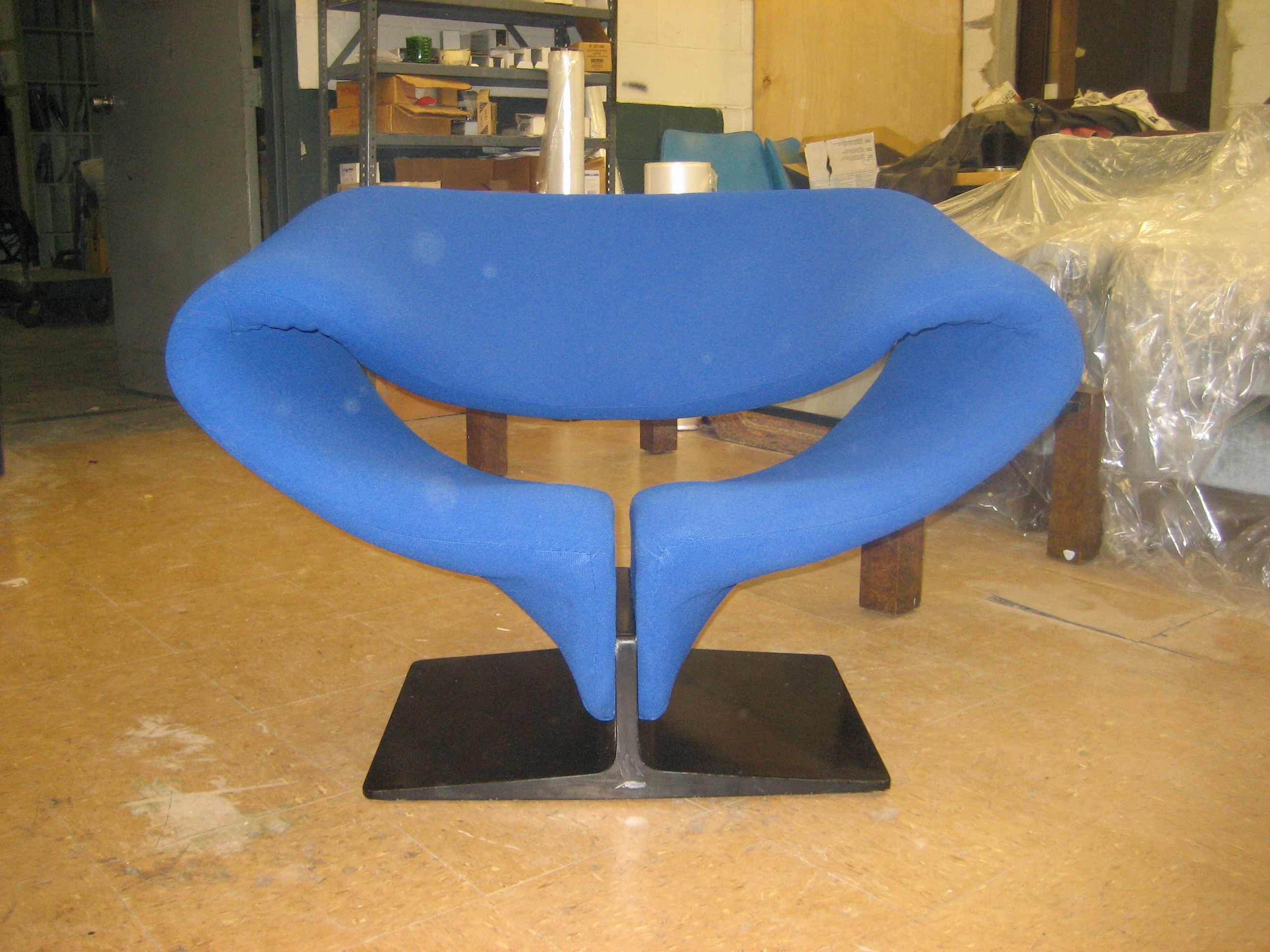 Pierre Paulin Ribbon Chair AFTER reupholstery
