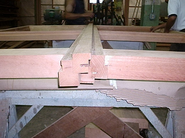 Gramercy Park Townhouse Custom Wood Window Fabrication DURING