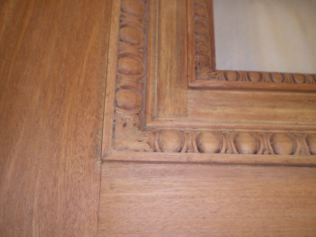 Mahogany Door Preservation Refinishing-after
