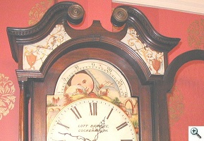 Oil Paint Conservation/George II Clock