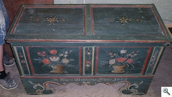 Pennsylvania Dutch chest