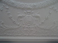 Plaster Ceiling Moldings Restoration