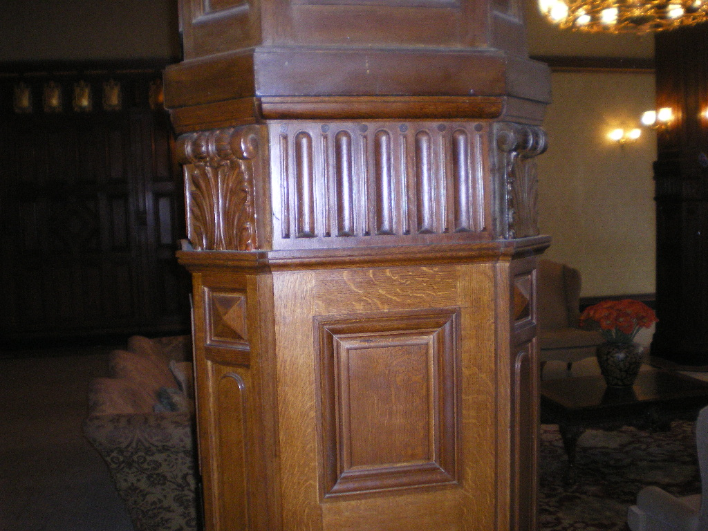 Panel of column replicated
