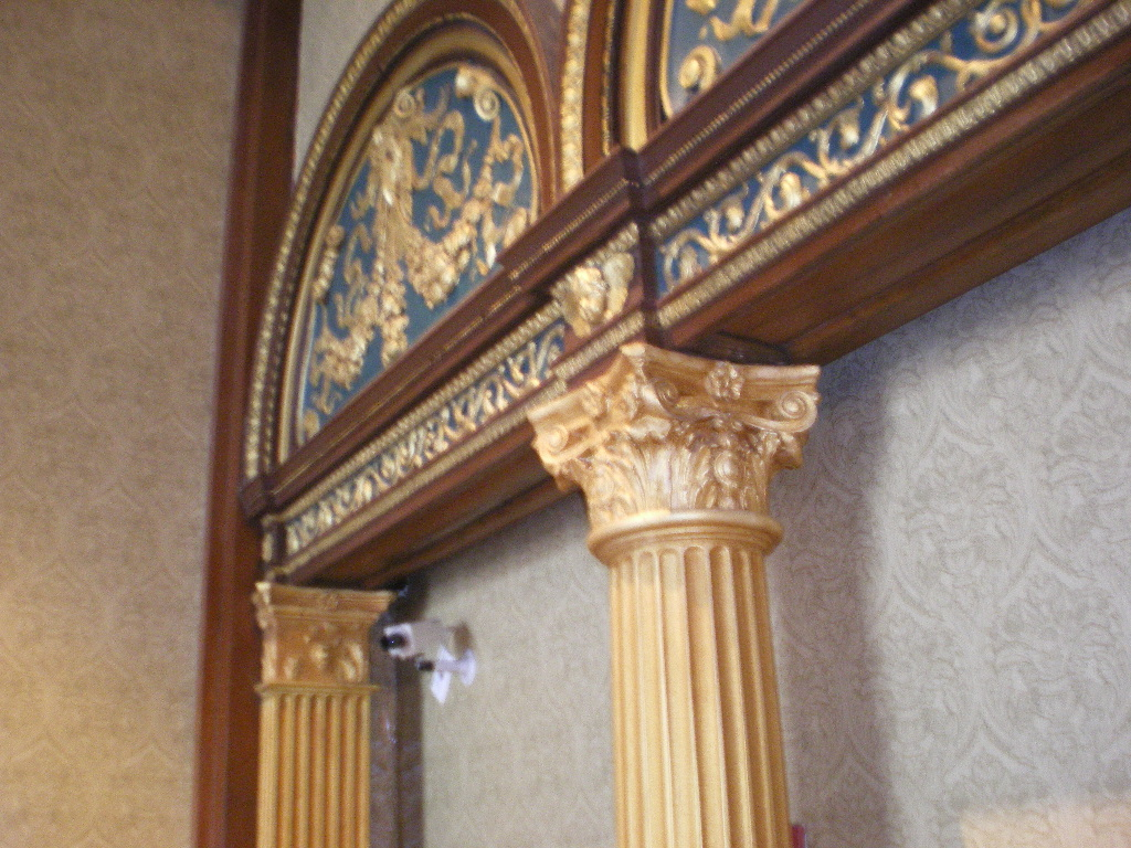 Replicate French boiserie panels