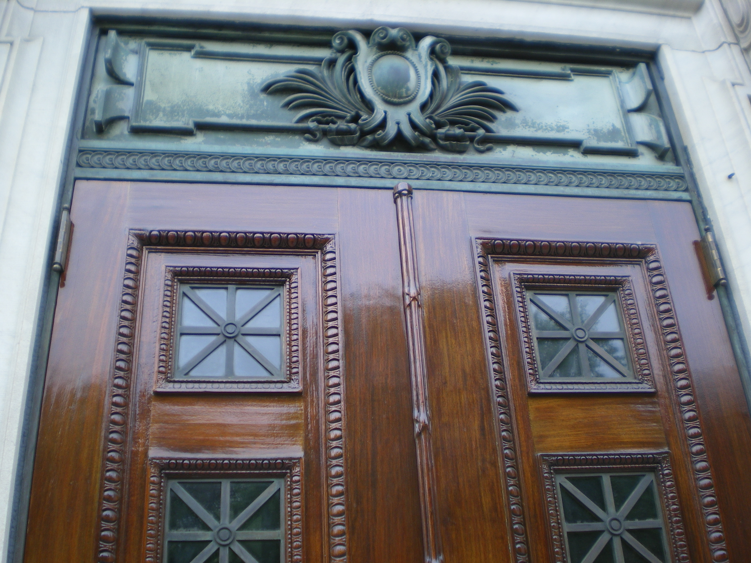 10W 68th St, NYC Doors After restoration (close-up)