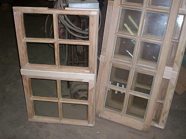 Windows Preservation, Dutchman inlays - repairs, during
