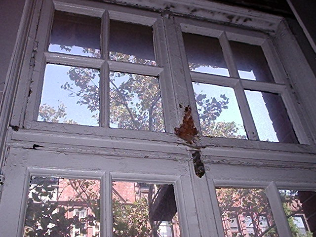 Without air conditioning, these windows and transoms were probably used daily for a large part of the year.