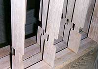 CUSTOM GOTHIC OAK DOOR FABRICATION
